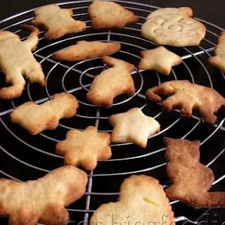 Lovely Lemon Shortbread Cookies