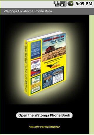 玩書籍App|Watonga Oklahoma Phone Book免費|APP試玩