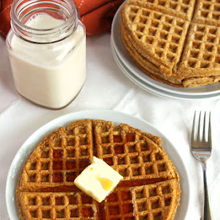Whole Wheat Carrot Waffles