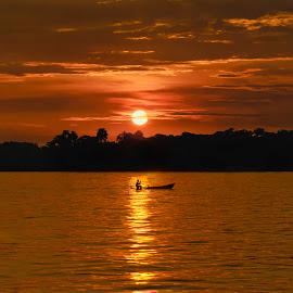 Going home by Basuki Utomo - Landscapes Sunsets & Sunrises