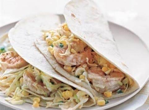 Shrimp Tacos With Citris Slaw Recipe