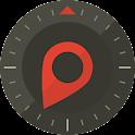 Grid GPS icon