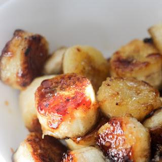 Vegan Amaranth Porridge & Caramelized Bananas