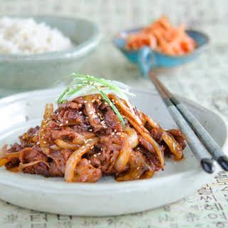 Easy Spicy Korean Pork for Dummies.