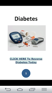 Diabetes- screenshot thumbnail