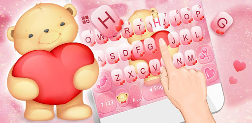 Teddy Bear Keyboard Theme for PC