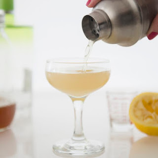 Mix Up a Ginger Sour Cocktail with a DIY Ginger Vodka.