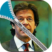 Imran Khan Zipper Lock Screen