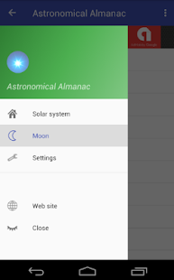Astronomical Almanac- screenshot thumbnail