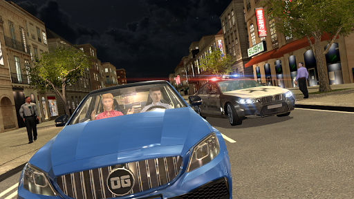 Car Simulator C63  captures d'écran 2
