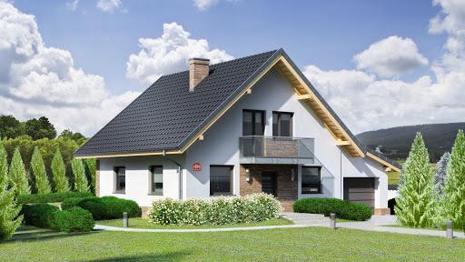 projekt Dom przy Oliwkowej 4 N
