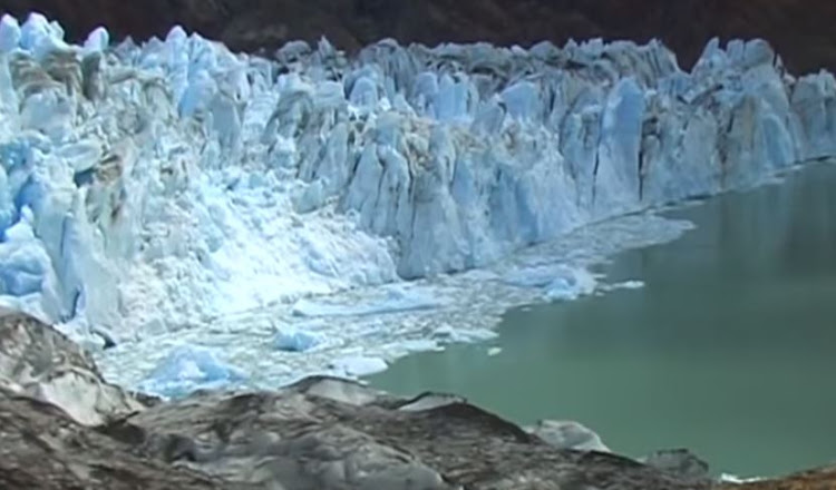The Patagonia glacier is a UNESCO world heritage site.