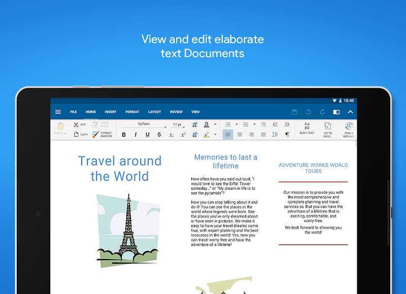 OfficeSuite - Office, PDF, Word Sheets Slides Note Screenshot 8