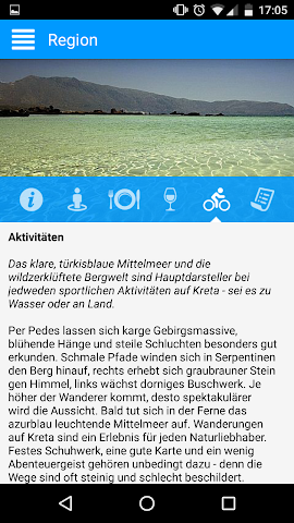android BEST-Reisen App Screenshot 2