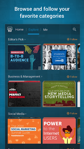 LinkedIn SlideShare 1.6.8 screenshots 2