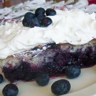 Blueberry Bottom Cake