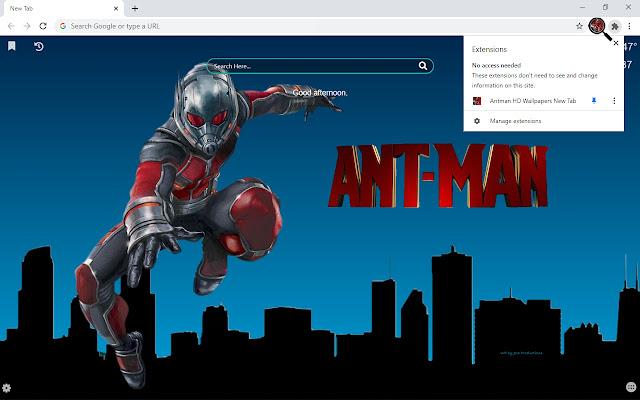 Antman HD Wallpapers New Tab