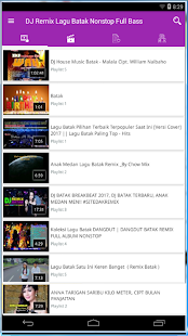 Lagu Batak Remix Nonstop Full Bass Terbaru - náhled