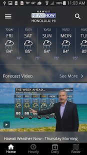 Hawaii News NOW WeatherNOW- screenshot thumbnail