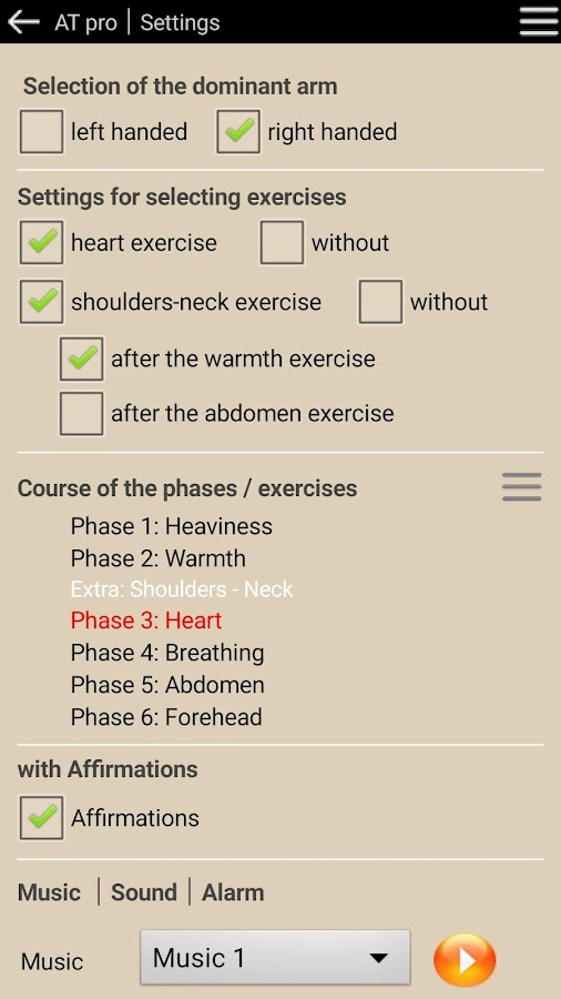 Autogenic Training ׀ AT pro ׀ English Version- screenshot