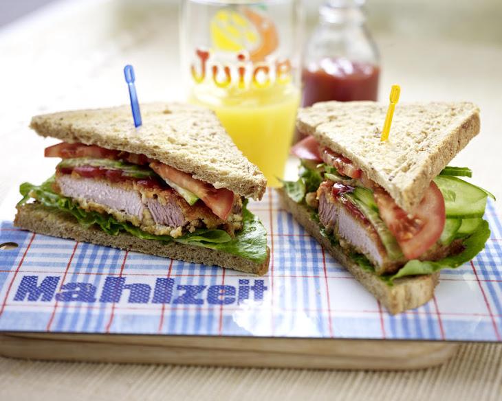 Breaded Pork Chop Sandwich Recipe