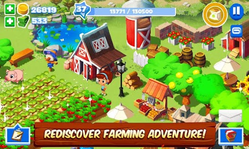 Green Farm 3 MOD APK (Unlimited Money) 2