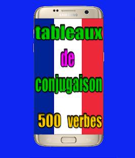 tableau de conjugaison francais - náhled