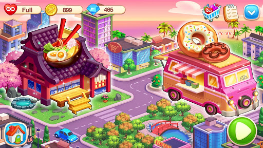My Restaurant: Crazy Cooking Madness Game apkmr screenshots 7