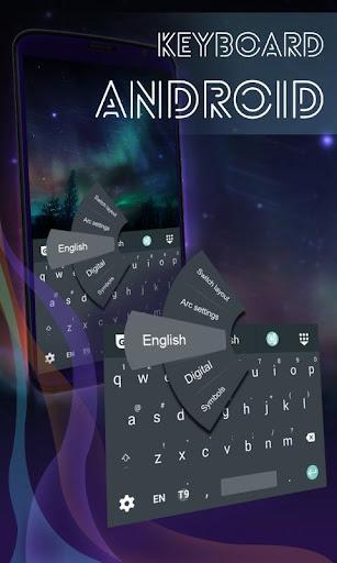 鍵盤主題為AndroidŁ