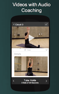 Pilates Exercise Workouts- screenshot thumbnail
