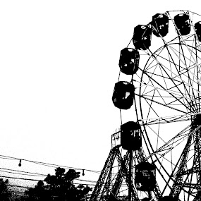 The Giant Wheel of Life by Nitish Khureja - City,  Street & Park  Amusement Parks