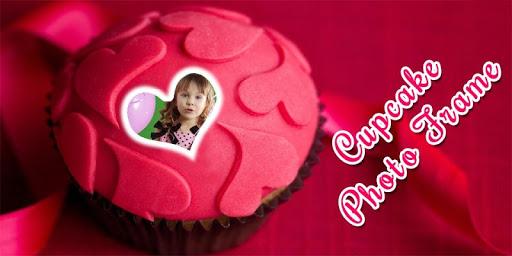 Cupcake Photo Frame