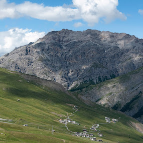 Livigno, Lombardy, Italy by Serguei Ouklonski - Landscapes Mountains & Hills ( mountain peak, flora, tourism, scenic, summer, rock, mountain, grass, day, italy, sky, no person, nature, beauty in nature, hike, flower, outdoors, daylight, plant, valley, lombardy, travel, no people, landscape, nature landscape )