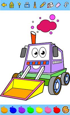 Coloring book for kids - screenshot