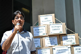 Photo: Vinay Sharma, Human Rights Director of the Canadian Auto Workers (CAW).