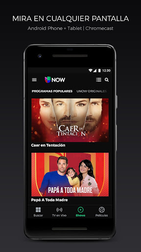Univision NOW: TV en vivo y on demand Screenshot