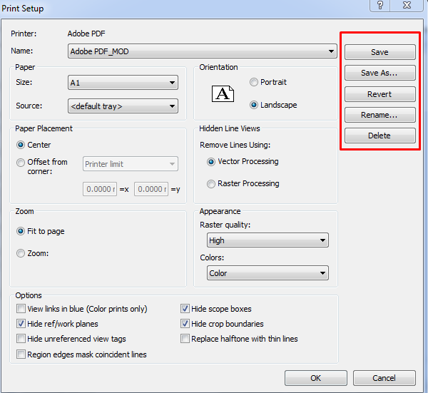 If You Click OK Before Clicking Save Your Changes Are Not Saved To The Selected Print Setting First Time However Prompted
