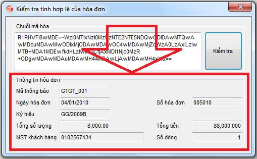 Kiểm tra tính hợp lệ của hóa đơn phần mềm kế toán 3TSoft