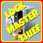 3D Lock Master Thief Icon
