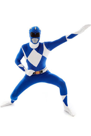 Morphsuit, Power Rangers blå