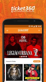 Ticket360: miniatura da captura de tela