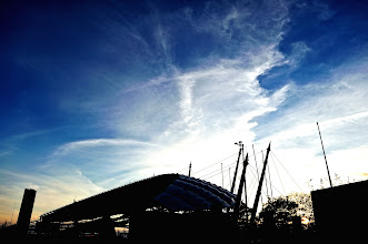 Photo: And the sun set upon Seowipo World Cup Stadium, at 5.03pm.