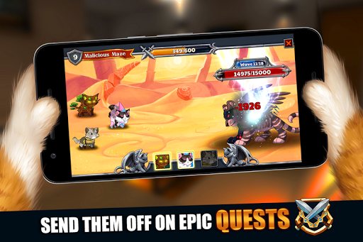 Castle Cats: Epic Story Quests 1.8.4 screenshots 9
