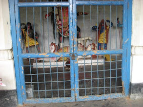 Photo: A Kali Temple in Bakchar village where Prabhusundar happened to stay on his first arrival in Bakchar.