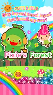 Pixie's Forest idle clicker- screenshot thumbnail