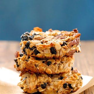 Blueberry Coconut Pecan Breakfast Cookies