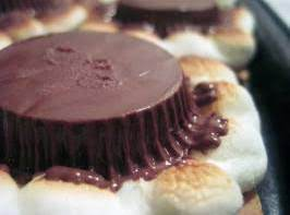 Smores With Reese's Cups