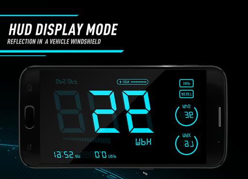 Hud Speedometer - Car Speed Limit App with GPS 1.3 screenshots 3