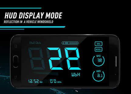Hud Speedometer - Car Speed Limit App with GPS - náhled