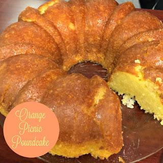 Orange Picnic Pound Cake
